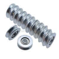 10PCS 3X12X4mmV623ZZ Skateboard Bearing Miniature Bearing V-groove bearings