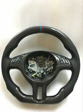 100% Real Carbon Fiber/Leather Car Steering Wheel For BMW E46