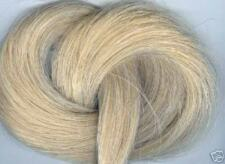 Horsehair 1 oz REAL creamy white REAL horsehair CRAFTS  JEWELRY tail extensions