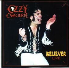 "OZZY OZBOURNE ""Believer-Live"" 2 Track limited numbered Picture VINYL"