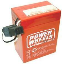Power Wheels RED 6 volt Battery #00801-0712 **NEW**