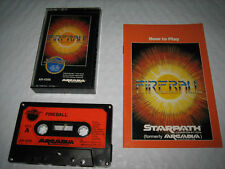 Fireball w/Manual - Cassette Game for Starpath SuperCharger (Atari 2600, 1982)