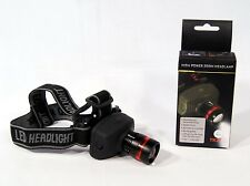 Cree 160 lm LED Wearable Adjustable High Power Headlamp TK27