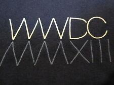 APPLE WWDC 2013 T-SHIRT Navy Blue MD Employee EUC Swift XCode iOS HomeSync Mac M