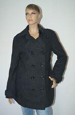 ESPRIT Mantel Jacke schwarz Damen Damenmantel Größe 42 (1605B-PG2)