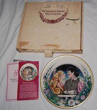 Vintage Legends Of Camelot Plate Secret Romance David Palladini Hamilton Le Box