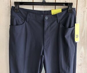 Men's All In Motion Stretch Navy Quick Dry Golf Pants Sz 32x32