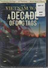 The Vietnam War A Decade Of Dog Tags Authentic Footage 21 Features 8 Hours + DVD