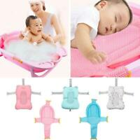 Baby Shower Bath Tub Pad Non Slip Bathtub Mat Newborn Safety Cotton Bath Cushion