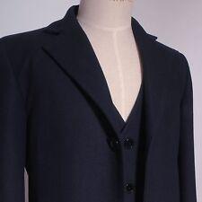Doctor Coat Overcoat cosplay costume Who Blue 12th Uniform Suit Halloween A Hot