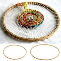 DIY Wooden Round Loom Wooden Knitting Weaving Tool Handmade
