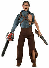 "NECA EVIL DEAD 2 HERO ASH RETRO CLOTHED 8"" POSEABLE ACTION FIGURE DOLL"