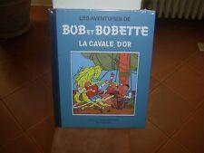 VANDERSTEEN: BOB ET BOBETTE. La cavale d'or. Collection classique bleue 8.