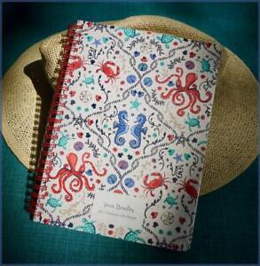 Vera Bradley Mini Notebook SEA LIFE - Fun Ocean 🦀  Beach Design ~ New / Sealed
