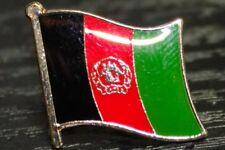AFGHANISTAN Afghan Metal Flag Lapel Pin Badge *NEW*