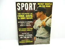 1963 October Sport Magazine. Mickey Mantle Cover Ex. Cond.