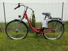 Alu City Damen Bike Fahrrad Rot 7-gang Shimano 28 Zoll Federgabel Trekking