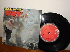 Captain Sensible- WOT!- 7 Inch Vinyl
