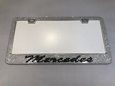Mercedes Benz AMG Bling Bling License Plate Frame Single