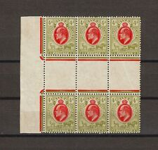 """SOUTH AFRICA/ORANGE RIVER 1905-09 SG 150/150a """"IOSTAGE"""" MNH/MM Cat £222.50 ."""