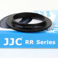 JJC RR-NEX Anillo Adaptador Inversor Macro Objetivos lentes 55mm Sony E-Mount