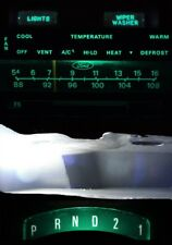 Supplemental LED Dashboard Bulbs GREEN For 73 79 Ford F100 - F350 Truck