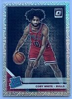Coby White 2019-20 Donruss Optic Rated Rookies Choice Mojo Prizms RC #180 BULLS