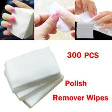 300pcs Lint Free Nail Art Gel Polish Remover Cotton Pad Nail Wipe