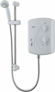 Triton Seville Shower Electric Power Heating Hot Water Bathroom White 9.5kW NEW