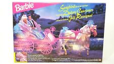 Barbie Songbird Horse and Carriage Horse Moves #14862 1996 New