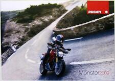 DUCATI Monster 700/1100 - Motorcycle Sales Brochure - 2009 -#917.1.242.1A