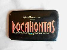 Vintage Walt Disney Pictures Pocahontas Animated Movie Promo Pinback