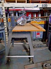 "SEARS CRAFTSMAN 3 HP 10"" RADIAL ARM SAW WITH TABLE STAND"