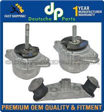 Porsche Panamera 4.8 V8 Engine Motor Mount Transmission Mount 94837505812 Set 3