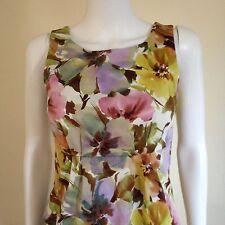 Joe Fresh Women's Mini Sleeveless Dress Floral Size XS