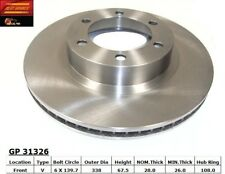 Disc Brake Rotor-Standard Brake Rotor Front Best Brake GP31326