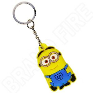 Despicable Me Keyring - Minion Dave Keychain - Bag Tags Kids Party Bag Favours