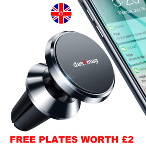 In Car Magnetic Phone Holder Air Vent Mount Bracket Universal AirVent Fan iPhone