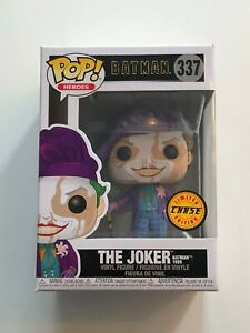 BATMAN 1989 THE JOKER 337 LIMITED CHASE EDITION FUNKO POP! VINYL FIGURE NEW