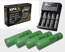 Xtar XP4 Li-Ion Ladegerät + 4x Samsung INR18650-25R mit 2500mah