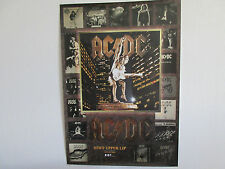 AC/DC Stiff Upper Lip Japan Promo Poster by East West Japan Angus Young