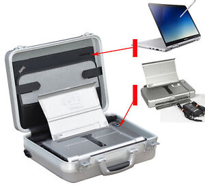 Mobile Printer Canon IP100 + Elegant Suitcase Attache Case IN Top Condition CC11