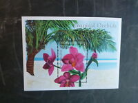 2000 MALDIVES ORCHIDS STAMP MINI SHEET MNH #2