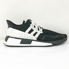 Adidas Mens EQT Cushion ADV AC8471 Black Running Shoes Lace Up Low Top Size 11