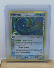 Rayquaza Holo Foil Shiny Pokemon TCG Card EX Holon Phantoms 16/110 Moderate Play