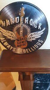 Tin Replica Album record sign