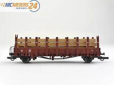 E62 Piko H0 offener Güterwagen Rungenwagen mit Ladegut 3028 DR / NEM *TOP*