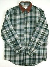 Carhartt Vintage Shirt Rugged Outdoor Wear Rare USA cell stripes with logo men's