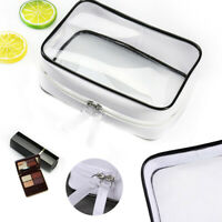 Clear Cosmetic Toiletry PVC Travel Wash Makeup Bag Waterproof Pouch Storge Bag