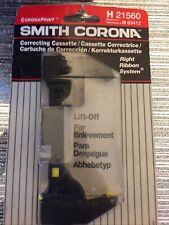'SMITH CORONA H21560 Lift Off CORRECTING Cassette 7.8mm x 6.1m NOS